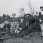 Een achtergelaten Nederlands kanon aan de Langenboomseweg