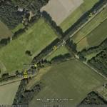Hier vind je de kazematten 535 t/m 531, de spoorbrug en de 'asperges'